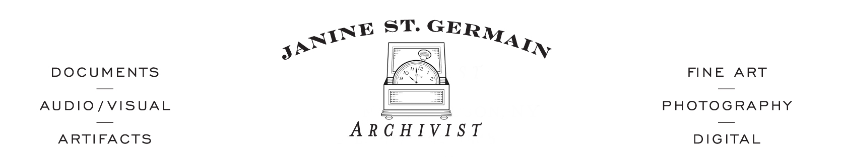 Janine St. Germain Archivist